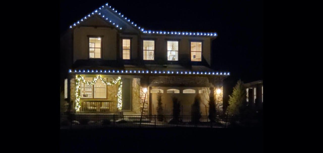 Broomfield, Colorado Christmas Lights Installation